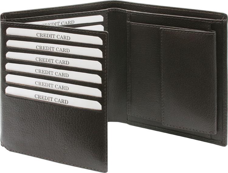 7dd5a57a50b Rahakotid meestele 93334. Valmistatud kitsenahast, pakitud kinkekarpi.  Mõõdud: 125x110mm. Värvid: tumepruun ja must